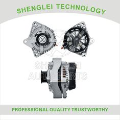 Fixed Pulley Type Car Engine Alternator , Toyota 12V 130A Car Dynamo Generator